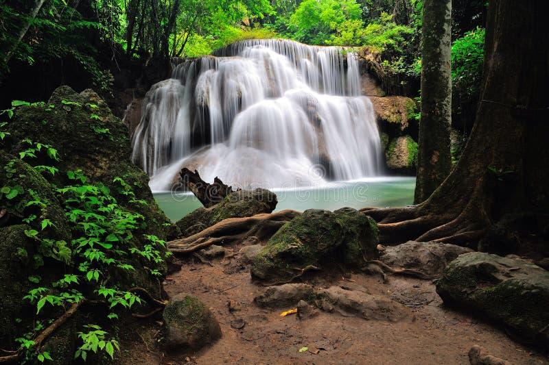 Caída del agua en Tailandia imágenes de archivo libres de regalías