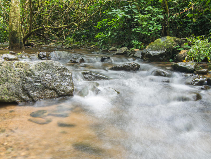Caída del agua en Tailandia fotografía de archivo