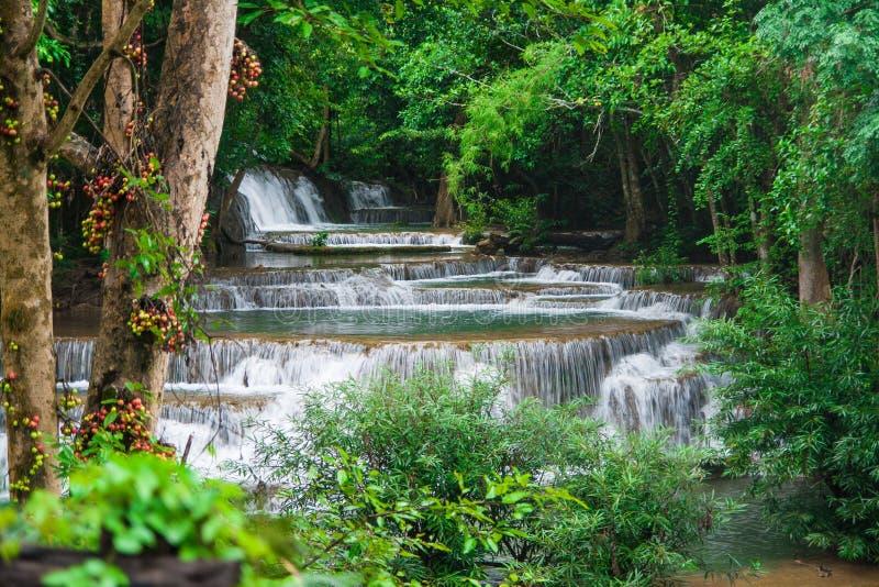 Caída del agua, kamin de los mae de hua imagen de archivo libre de regalías