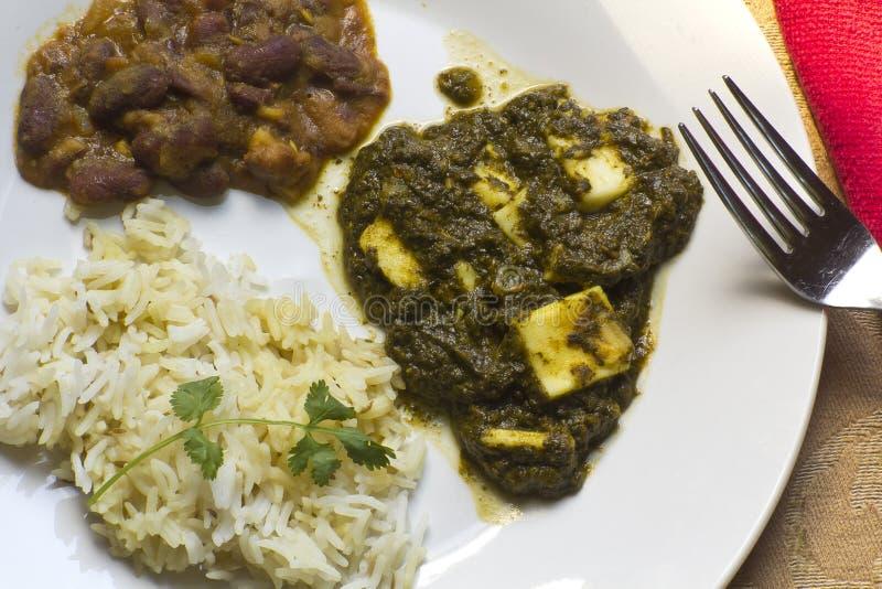 Caída Paneer - alimento indiano autêntico fotos de stock royalty free
