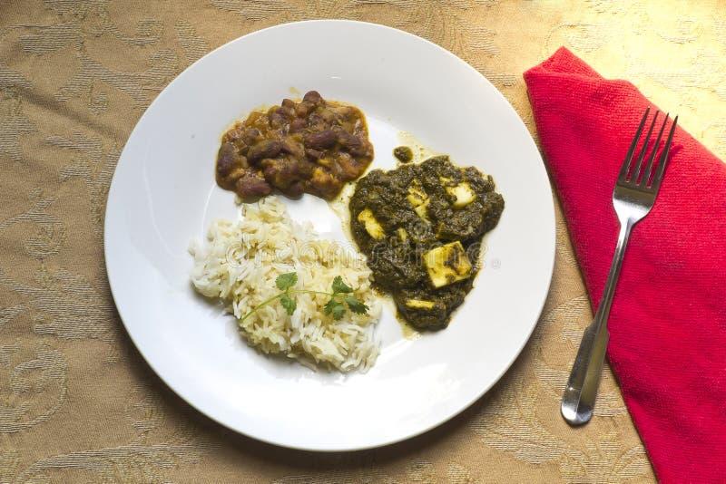 Caída Paneer - alimento indiano autêntico imagens de stock