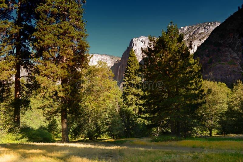 Caída superior de Yosemite imagen de archivo