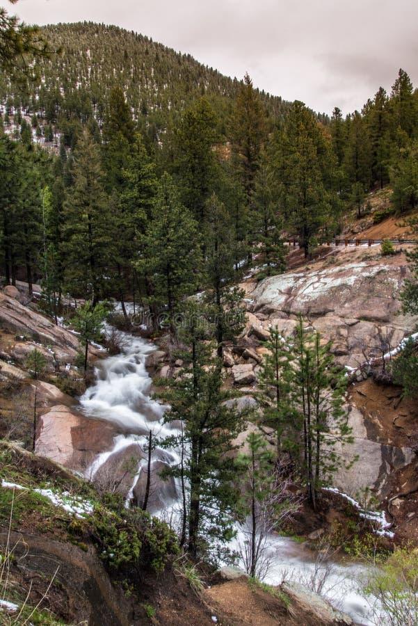 Caídas Colorado Springs de la caza de Helen imagen de archivo
