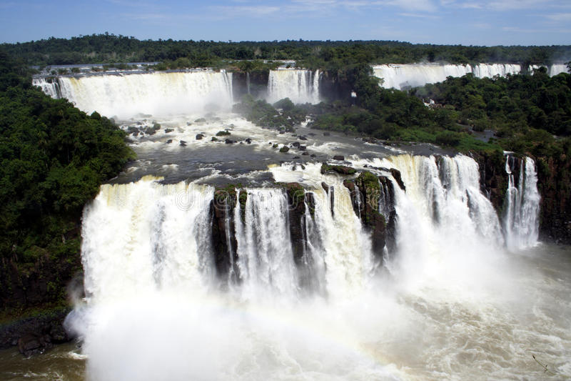 Caídas De Iguacu Foto de archivo