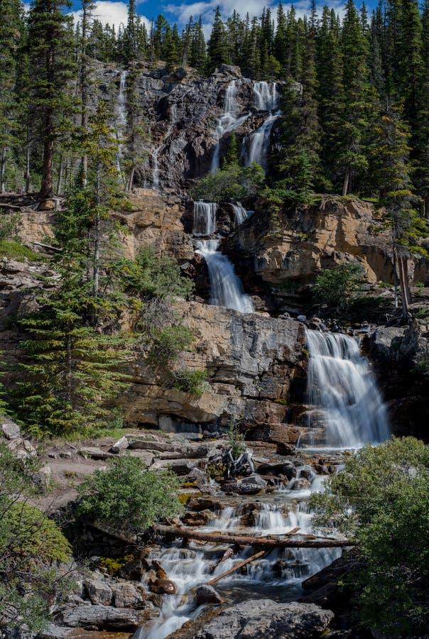 Caídas de la cala del enredo, parque nacional de jaspe fotografía de archivo