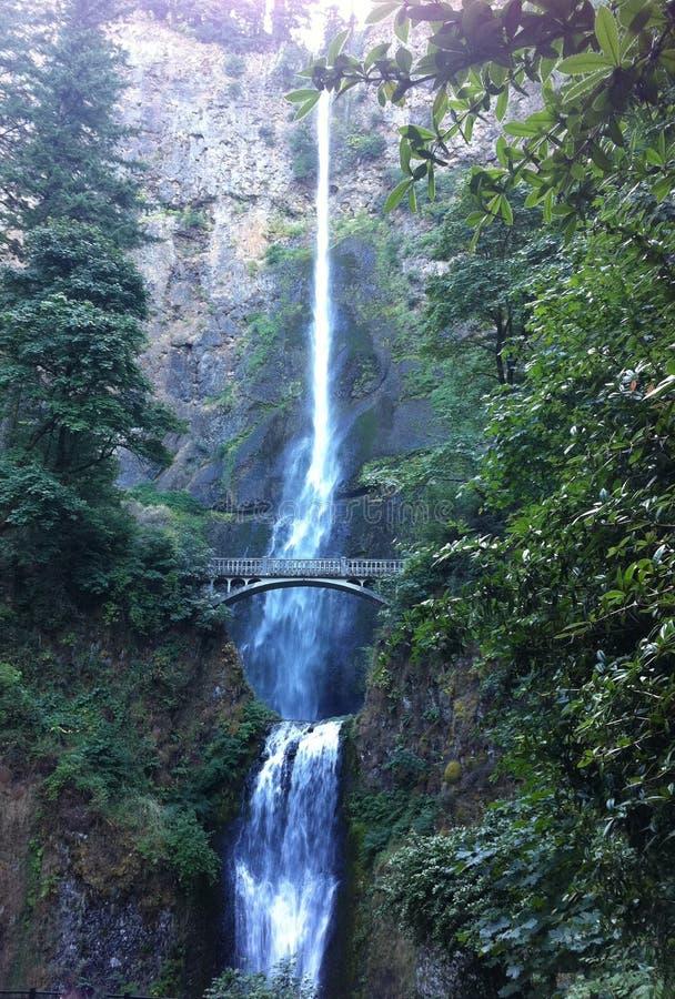 Caídas de Multnomah, Portland, Oregon foto de archivo