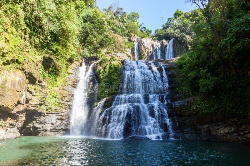 Caídas de Nauyaca, Costa Rica foto de archivo libre de regalías
