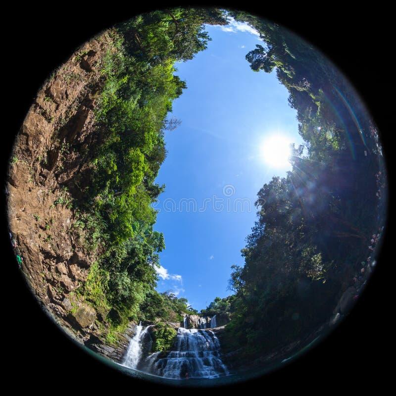 Caídas de Nauyaca, Costa Rica fotografía de archivo libre de regalías