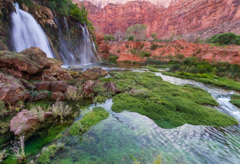 Caídas de Navajo imagen de archivo
