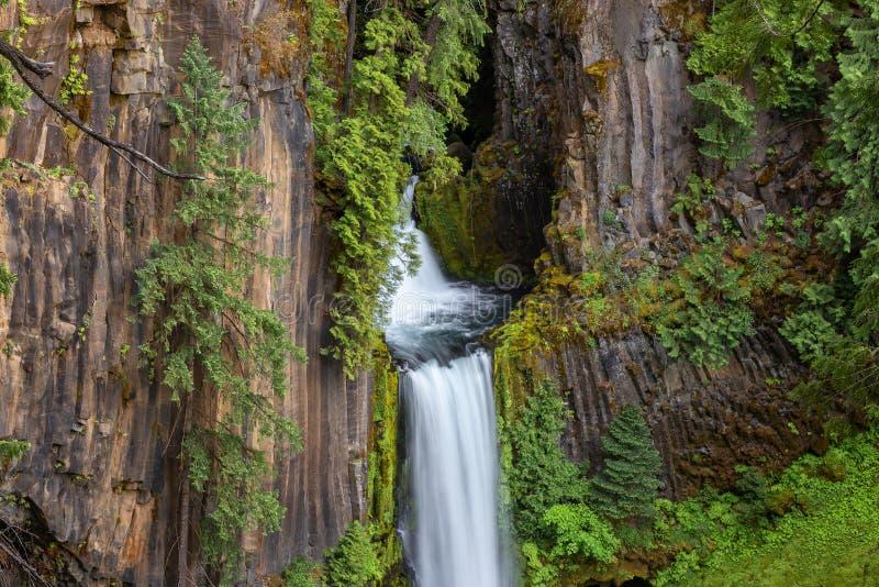 Caídas de Toketee, río del norte de Umpqua, Oregon foto de archivo libre de regalías