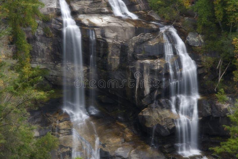 Caídas de Whitewater, las caídas más inferiores imagenes de archivo