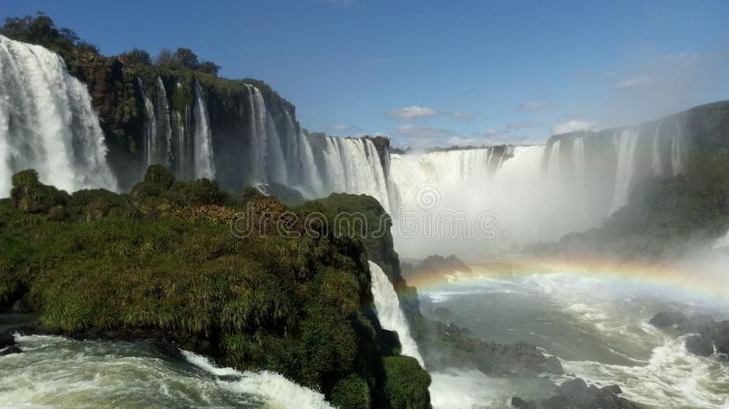 Caídas del Iguazu en su mejor fotos de archivo libres de regalías