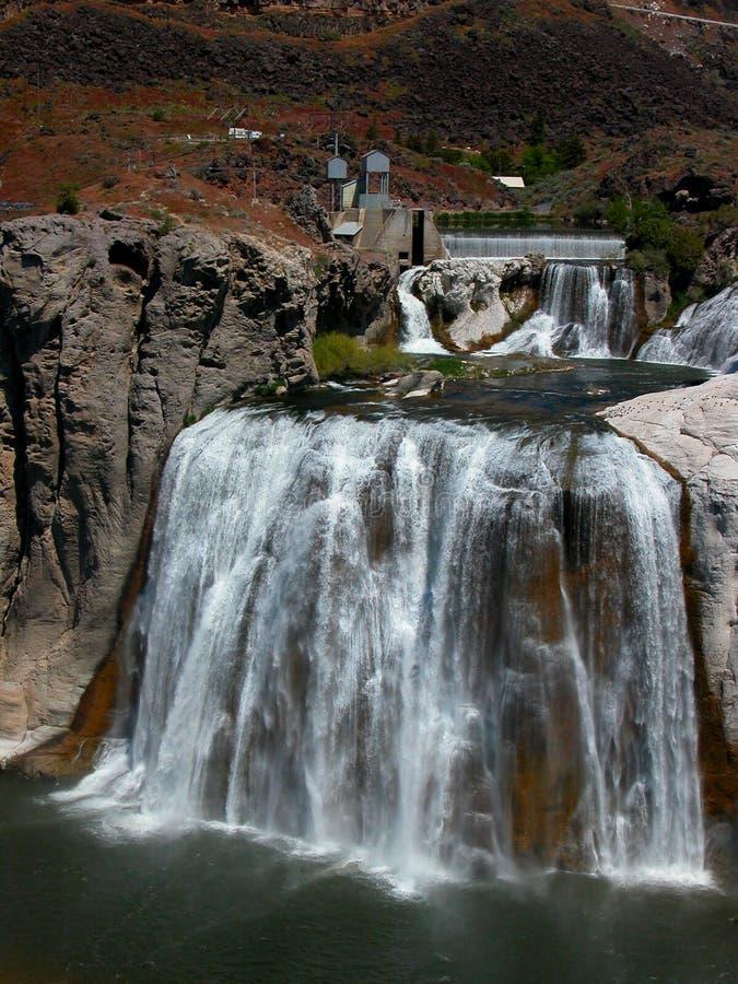 Caídas del Shoshone - Idaho foto de archivo libre de regalías