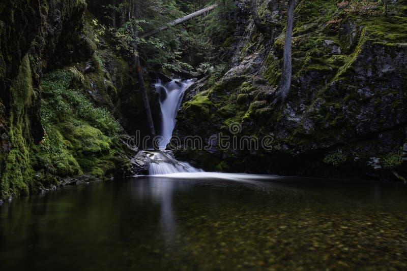 Caídas Idaho del norte del granito foto de archivo libre de regalías