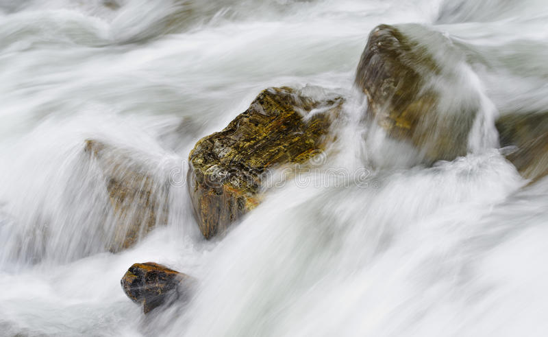 Caídas ocultadas, parque nacional magnífico de Teton fotografía de archivo libre de regalías
