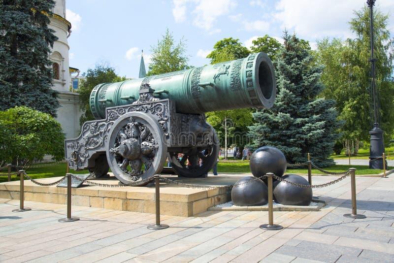 Download Cañón Del Zar En El Kremlin, Moscú Foto de archivo - Imagen de carving, antigüedad: 42437740