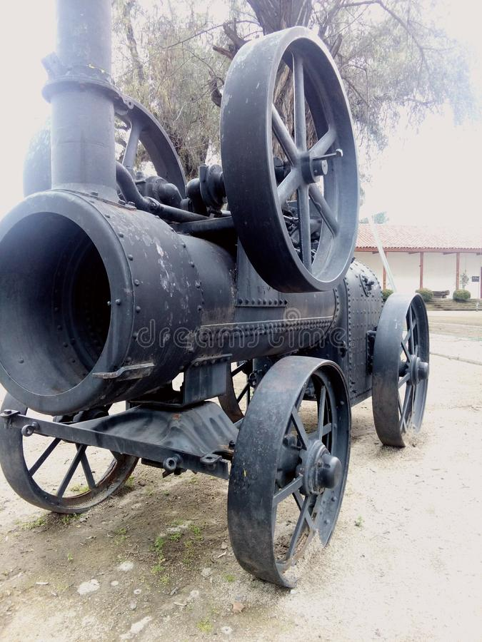 Cañón histórico chileno viejo imagen de archivo libre de regalías
