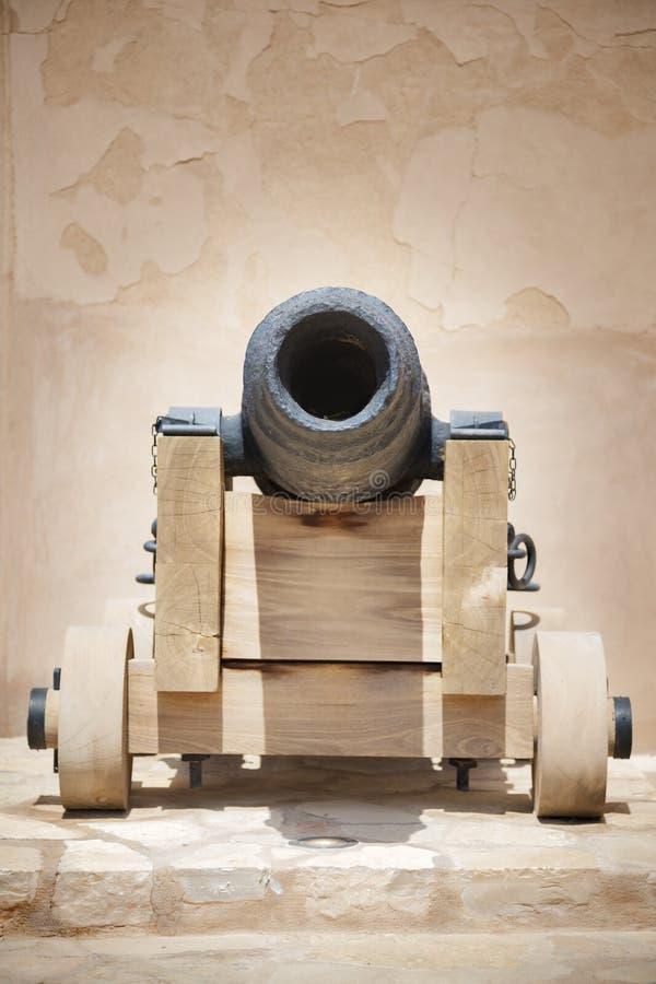 Cañón histórico Omán fotos de archivo libres de regalías