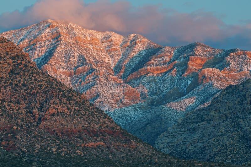 Cañón Red Rock al amanecer fotos de archivo libres de regalías