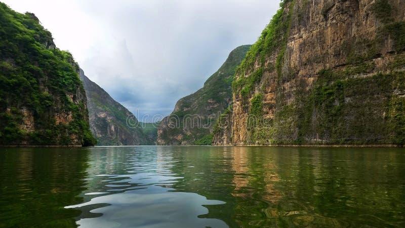 Sumidero Canyon, Chiapas, Mexico. royalty free stock images