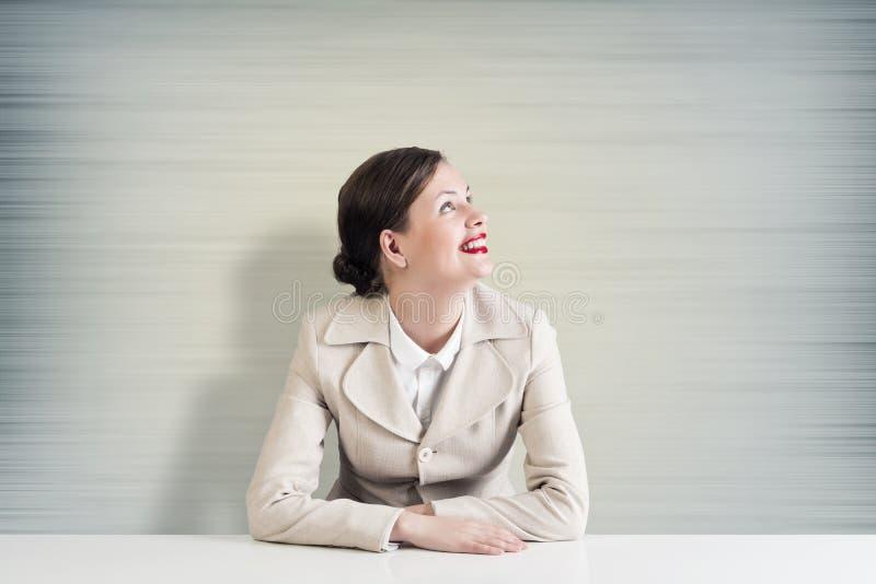 całkiem bizneswoman zdjęcia stock