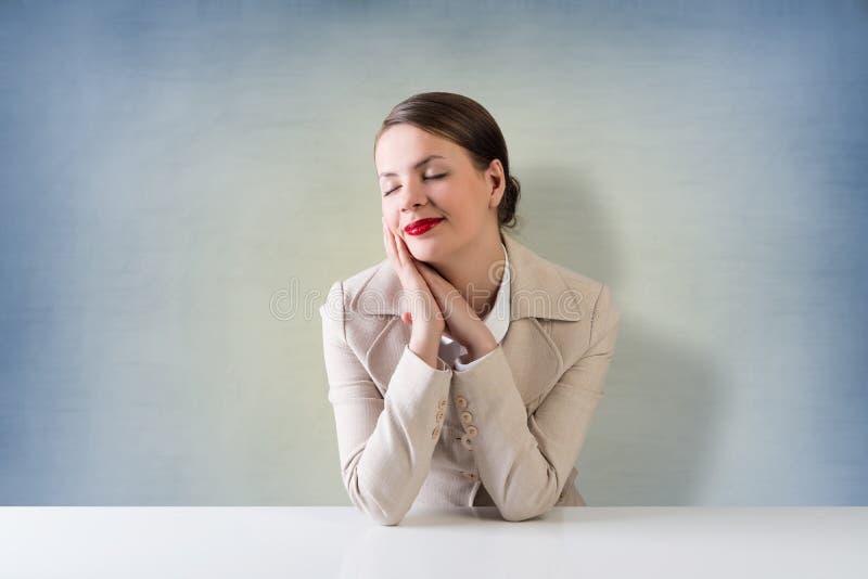 całkiem bizneswoman fotografia stock