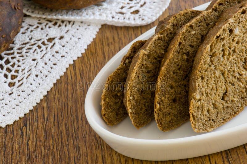Całkowy chleb obraz stock