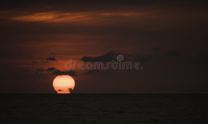 Całować horyzont zdjęcie royalty free