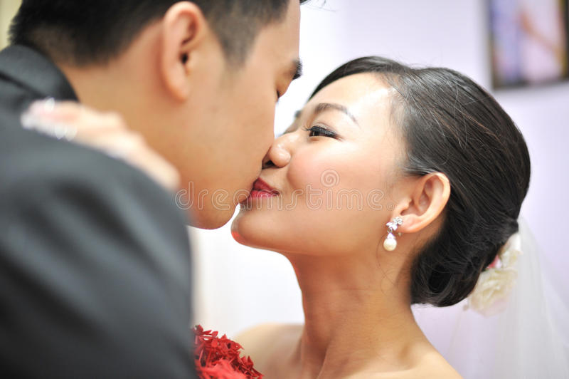 całowanie obraz stock