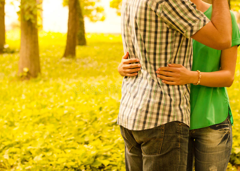 całowanie pary zdjęcie stock