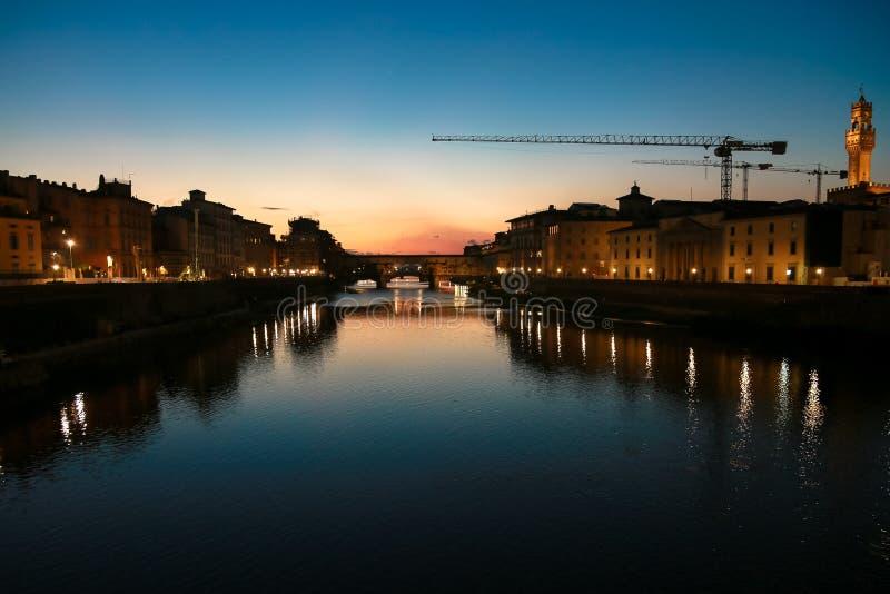 Cały widok Firenze fotografia royalty free