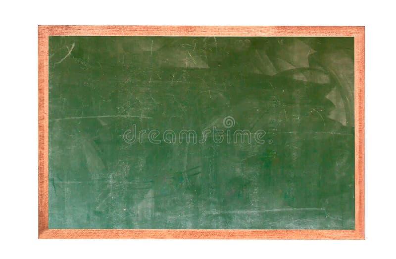 Ca?da verde vac?a de la textura de la pizarra en la pared blanca marco doble del greenboard y del fondo blanco imagen para el fon imagenes de archivo