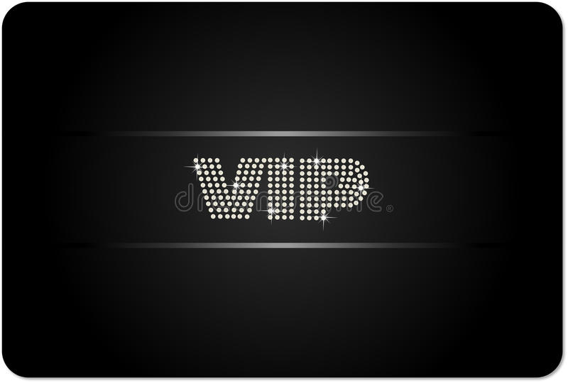 Caard del VIP libre illustration