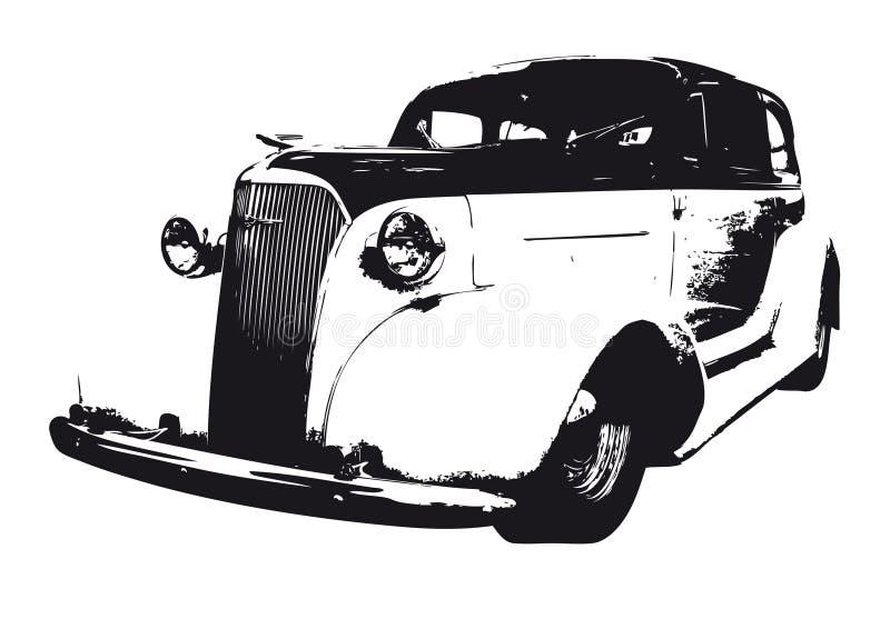 Download Cab stock illustration. Image of dodge, event, black, officine - 8723895