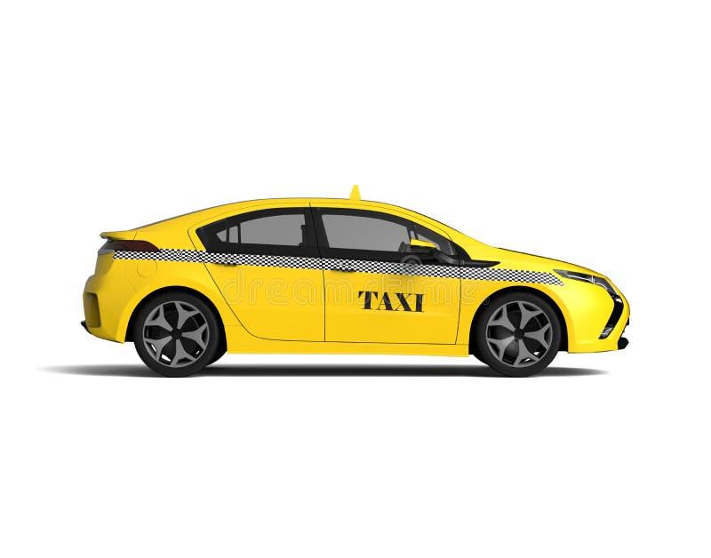 Cab concept. 3D render image of a cab royalty free illustration