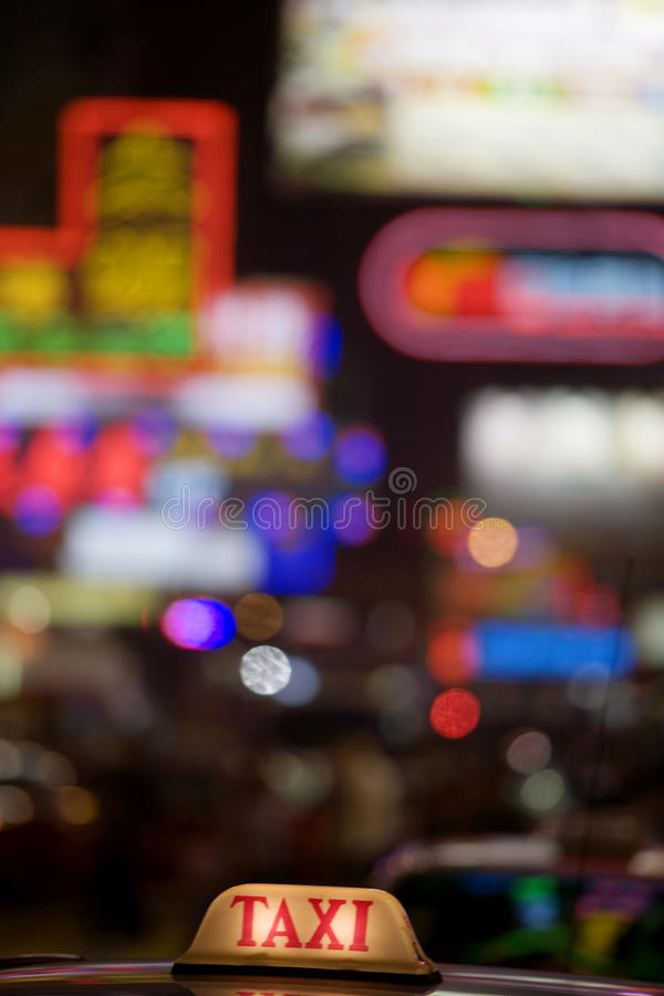 cab Hong Kong arkivfoton