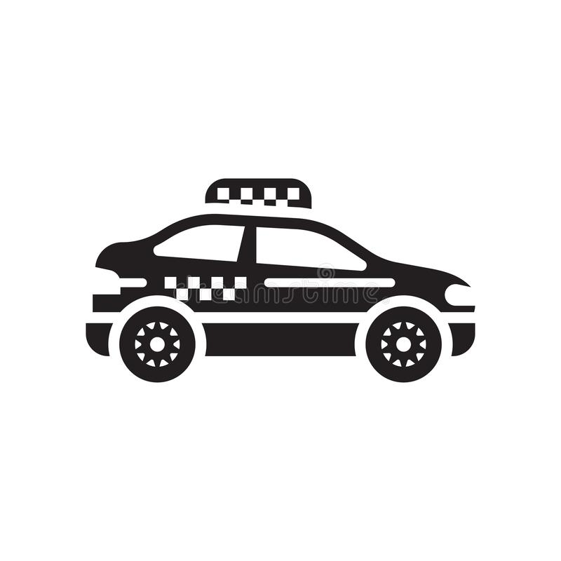 Cab icon vector sign and symbol isolated on white background, Ca. Cab icon vector isolated on white background for your web and mobile app design, Cab logo vector illustration