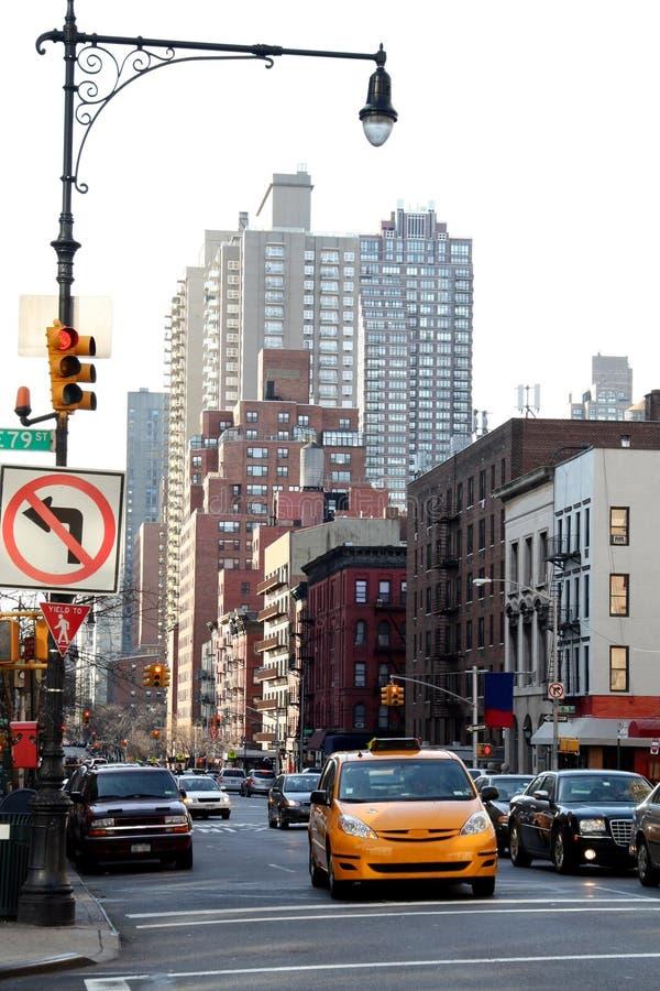 cab new york στοκ φωτογραφίες με δικαίωμα ελεύθερης χρήσης