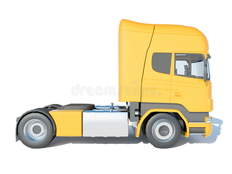 Cab side view stock illustration