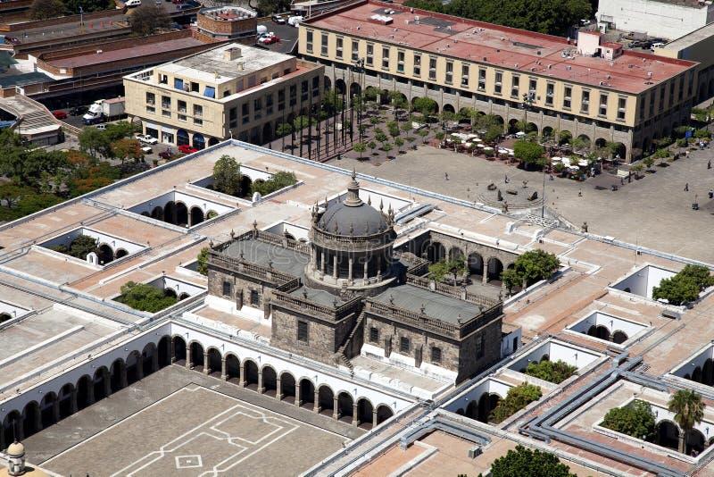 ½ ¿ Cabaï как здание в Гвадалахаре стоковое фото rf