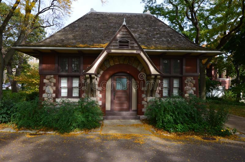 Cabaña de Carlson fotografía de archivo libre de regalías