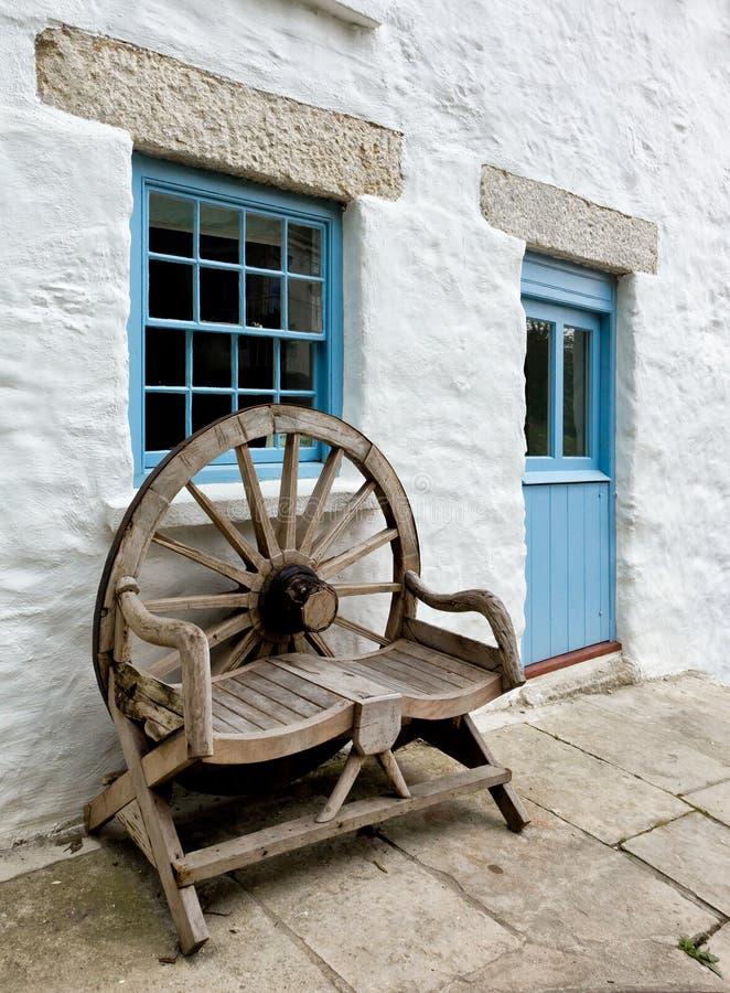 Cabaña de Cornualles fotografía de archivo