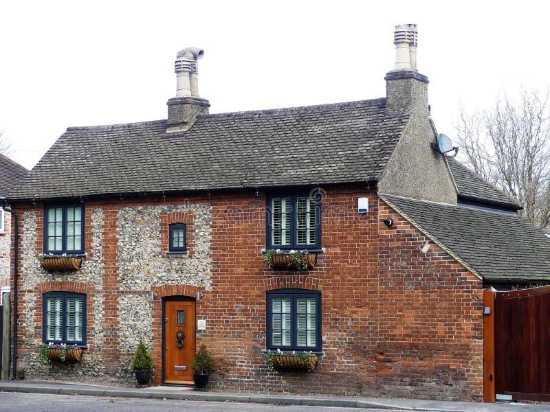Cabaña de dos aguilones, camino de Chenies, Chorleywood fotos de archivo libres de regalías