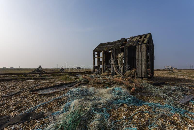 Cabaña de la pesca foto de archivo libre de regalías