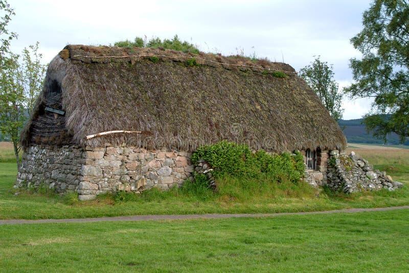 Cabaña de Leanach - Culloden, Escocia #3 imagen de archivo libre de regalías