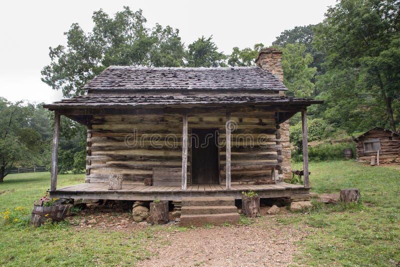 Cabaña de madera apalache imagen de archivo libre de regalías