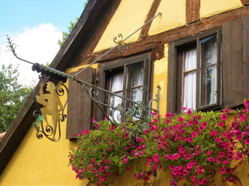 Cabaña de Rothenburg foto de archivo libre de regalías