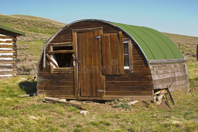 Cabaña del Sheepherder foto de archivo libre de regalías