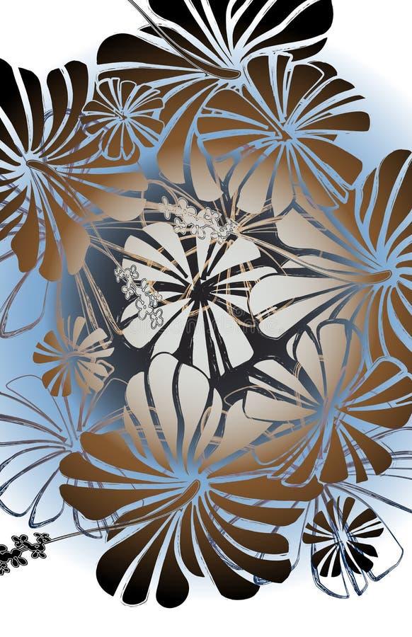 Cabaña floral libre illustration