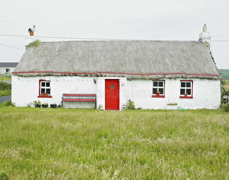 Cabaña, Irlanda imagen de archivo